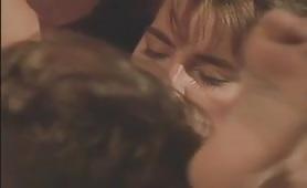 Rosa Casacciolo, sexy ungherese soddisfatta da Rocco in porno classico