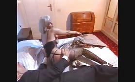 La sexy pornostar marocchina Dalila in versione bionda trombata come una vacca