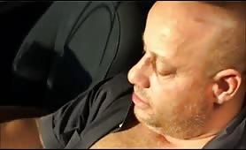 Kris Ebony - Puttana negra fa un pompino in auto