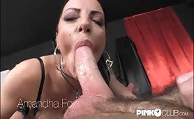 Amanda Fox pompini di gola profonda
