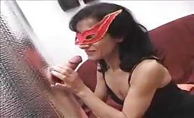 Marta Lorenzi, matura italiana esibizionista in casting porno amatoriale