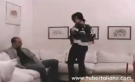 Zio porco sditalina la nipote in porno incesto